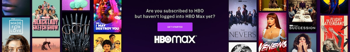 Get Started with HBO Max Promo Banner